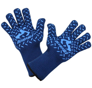 (MENS) BlueFire Pro Heat Resistant Gloves (Pair)