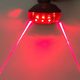 5 LED 2 Lasers Bicycle Safety Taillight