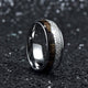 8mm Stainless Steel Designer Ring for men