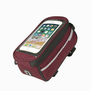 Bike Phone Front Frame waterproof Bag
