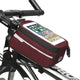 red Bike Phone Front Frame waterproof Bag