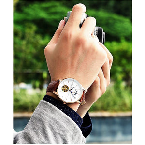 Luxury Mechanical Automatic Tourbillon Sports Watch for Men
