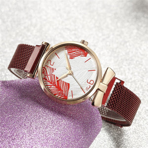 Mesh Strap Watch For Women