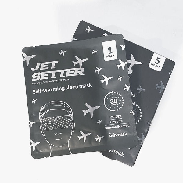 Jet Setter Warming Eye Mask (5 Pack)