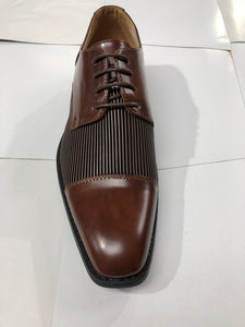 Masimo fancy dress shoe (brown and black)