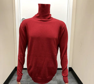 Cigar Red Turtleneck T-98