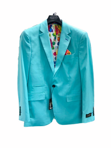 St. Patrick Aqua Slim Fit Jacket