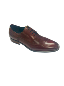 Maguire Wingtip Oxford Burgundy
