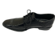 Fabriano Leather Sole Cap/Wingtip Oxford Black Stacy Adams