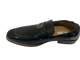 Belmiro Moc Toe Ornament Slip On Black Stacy Adams