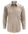 Lucasini Mens Tan Regular Fit 300 Series Dress Shirt - Ferrecci USA