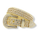DNA Premium Studded Rhinestone Belt Gold