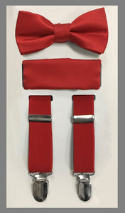 Boys Suspender and Bowtie Set 6 Colors available!