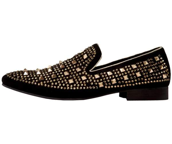 special for shoe cheap sale free delivery Cusco Gold Spike Shoes Amali – On Time Fashions Savannah