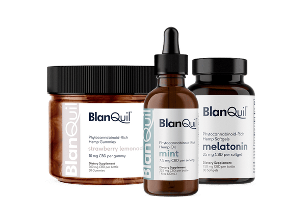 BlanQuil CBD Complete Wellness Pack