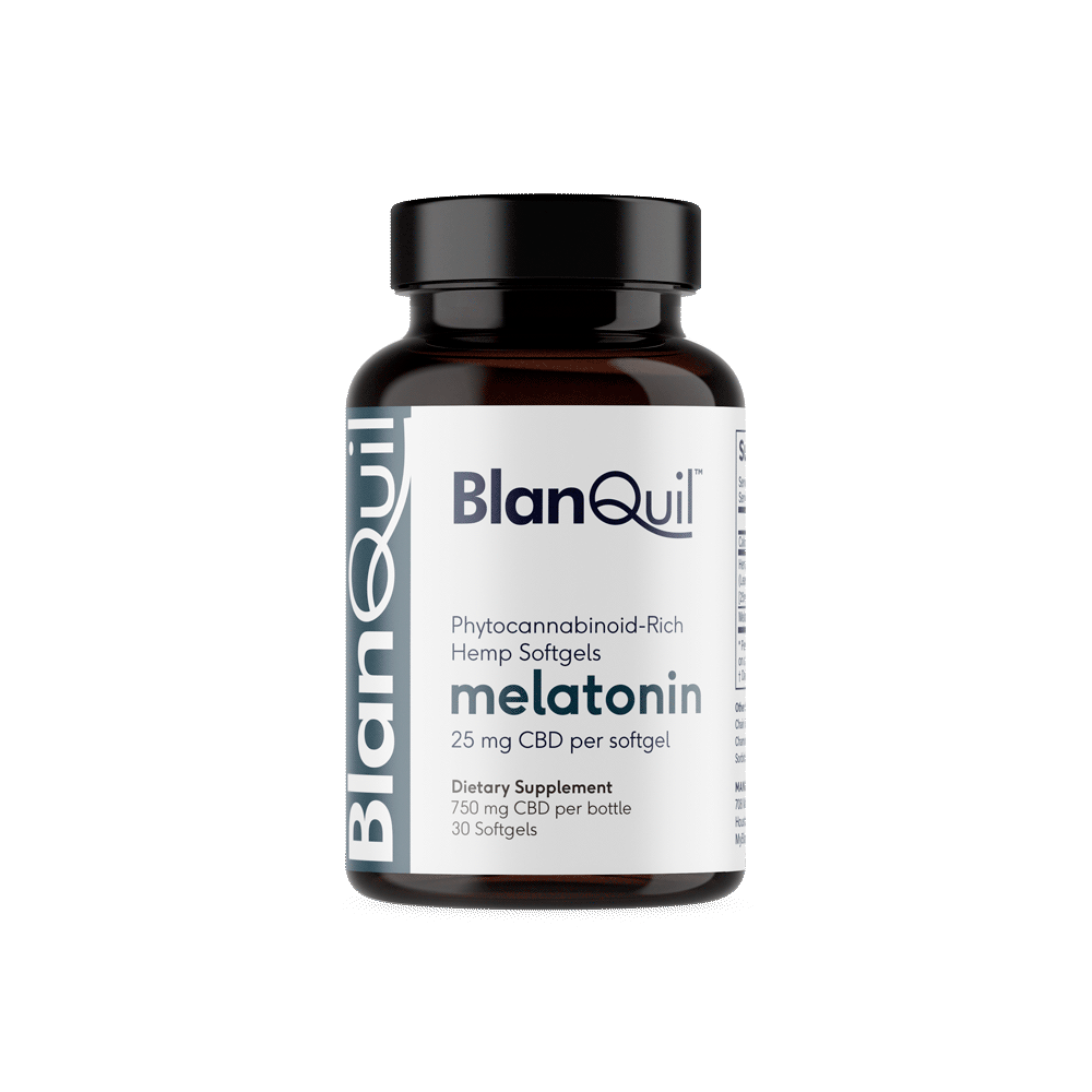 BlanQuil CBD + Melatonin Softgels