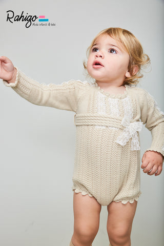 Tiffany Knit Romper by Rahigo