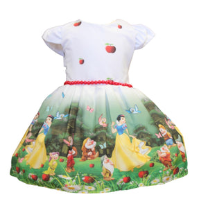 Snow White w/Red Pearls Dress by Baby Eden