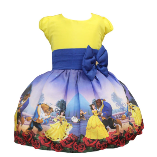 Beauty and the Beast Dress by Baby Eden