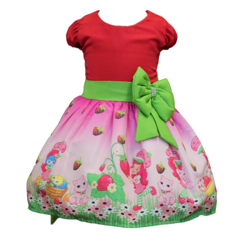 Strawberry Shortcake Dress by Baby Eden