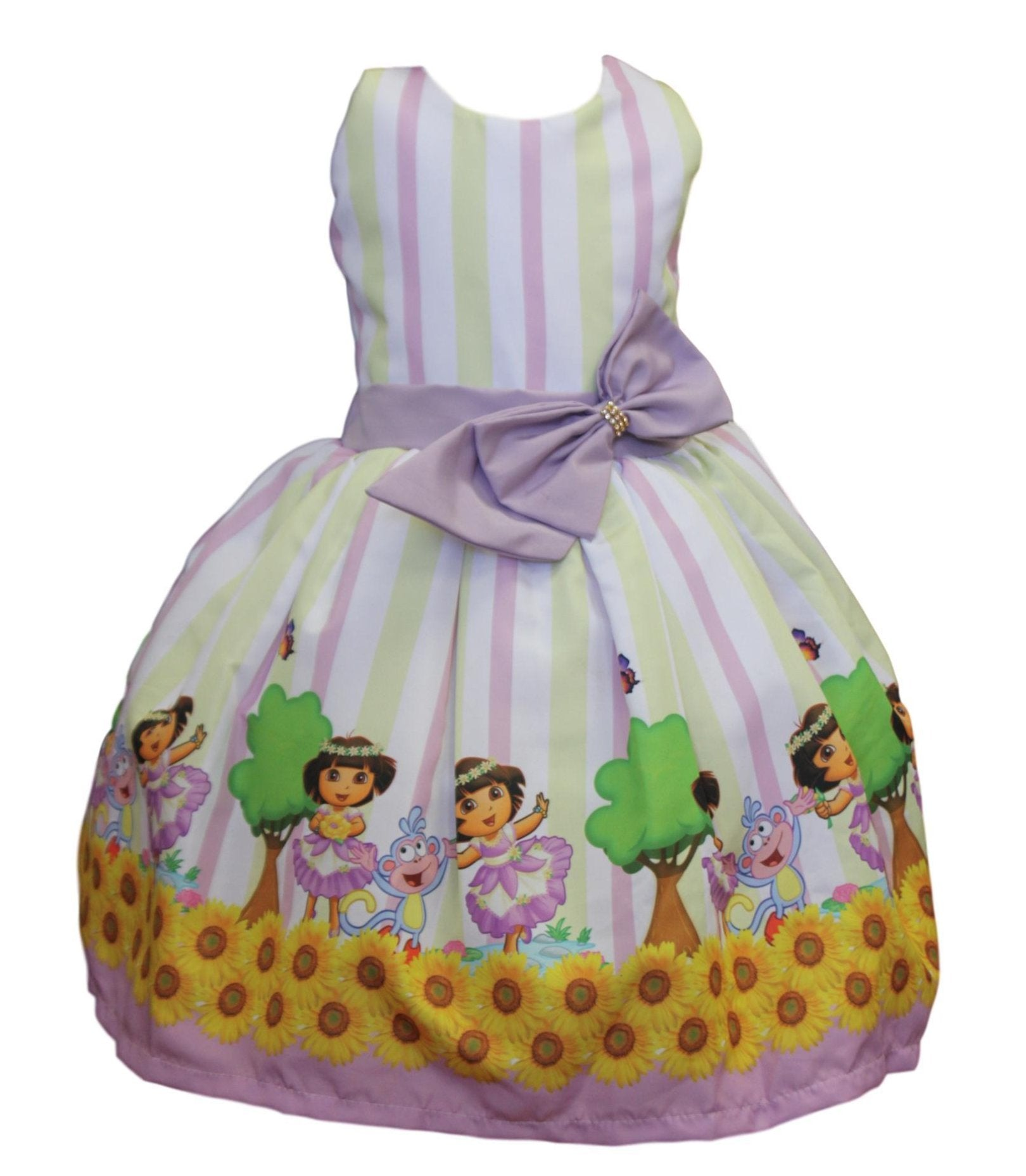 Dora the Explorer Dress by Baby Eden