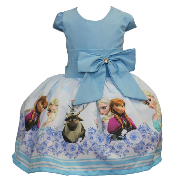 Frozen Dress with Sleeves By Baby Eden