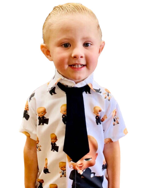 Boss Baby Shirt by Baby Eden