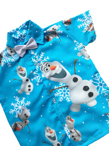 Olaf Boys Shirt by Baby Eden