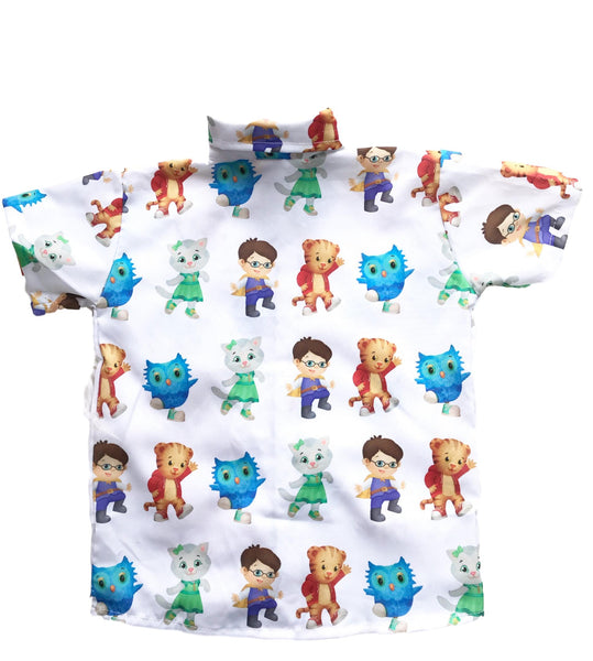 Daniel Tiger Boys Shirt by Baby Eden