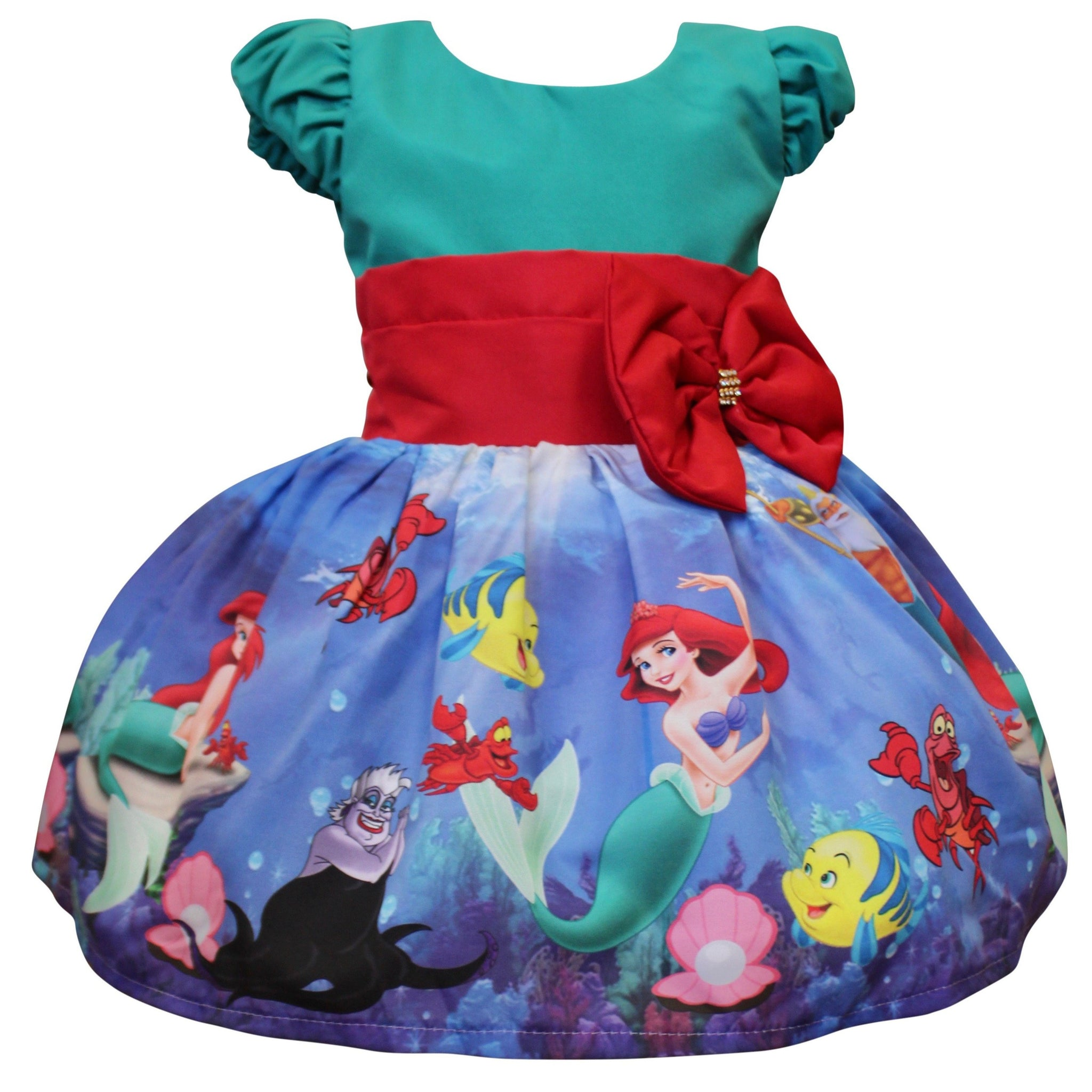 The Little Mermaid Dress by Baby Eden