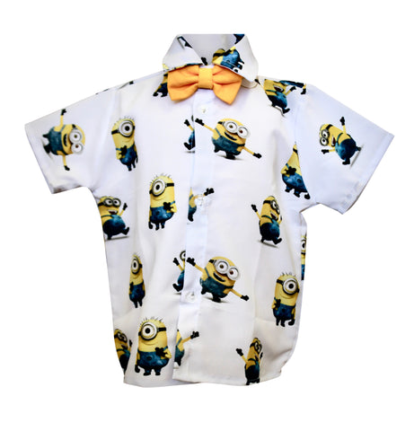 Minions Boys Shirt by Baby Eden