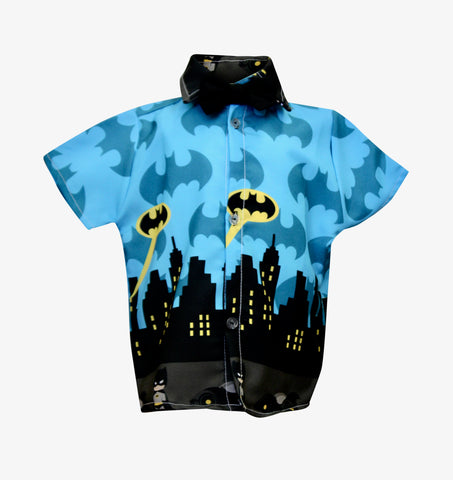Batman Boys Shirt by Baby Eden