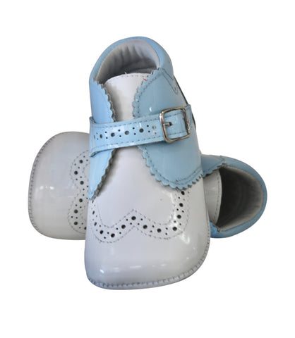 Boys Patent Leather Booties by Citos