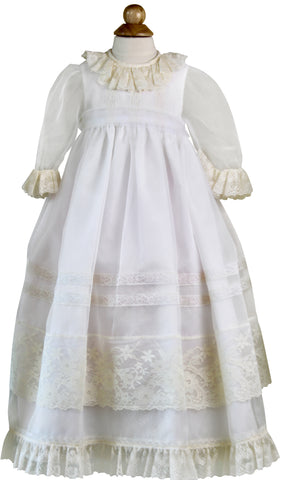 Beige Christening Dress by Sonata