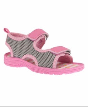 Lilly of New York Pink Stripe Sandal