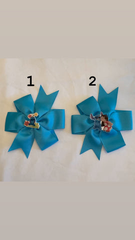 Hair Bows by Paulina-LILO and Stitch