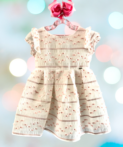 Mayoral Peaches and Creme Dress-Style #3919