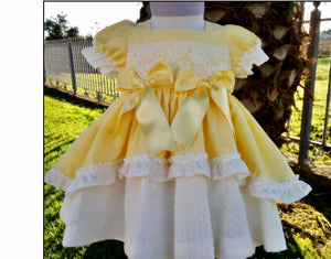 Sonata Yellow Dress No.4560