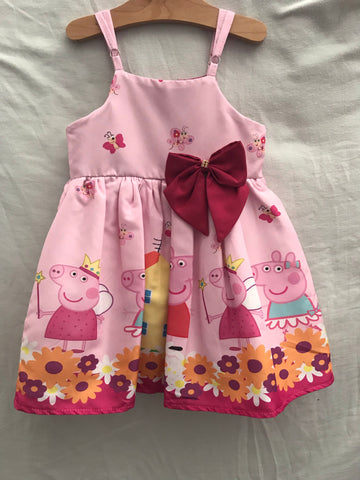 Peppa pig Pink with Straps