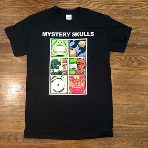 Mystery Skulls Comic Strip Shirt