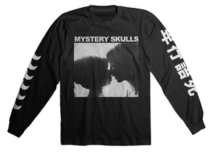 Mystery Skulls Long Sleeve Shirt - Black