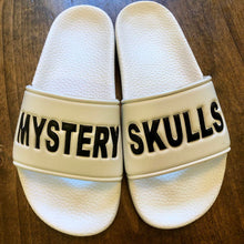 Load image into Gallery viewer, Mystery Skulls Slides (White)