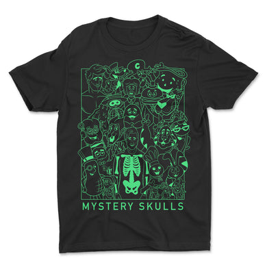 Skulls 'n Friends Glow n' the Dark Tee **PREORDER**