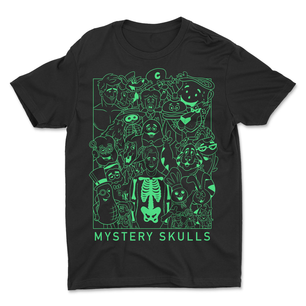 Skulls 'n Friends Glow n' the Dark Tee