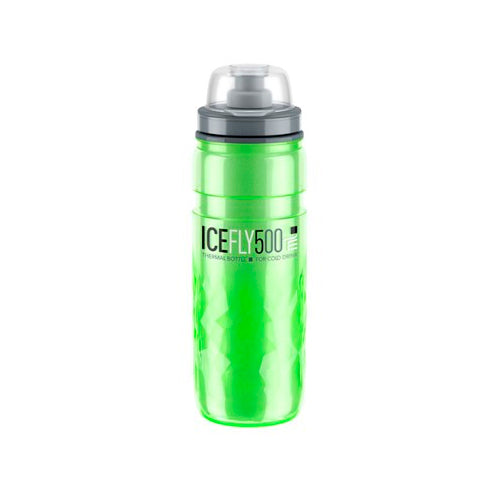 BIDON ELITE ICE FLY VERDE 500ML