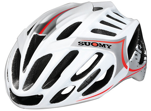 CASCO SUOMY TMLS ALL-IN STAR BLANCO/NARANJA T-L