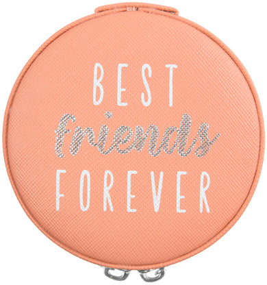 "Best Friends - 3.5"" Zippered Jewellery Case"