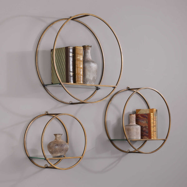 Ellison Wall Shelves (Set of 3)