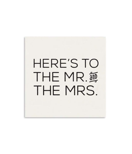 Mr & Mrs Mini Note Card