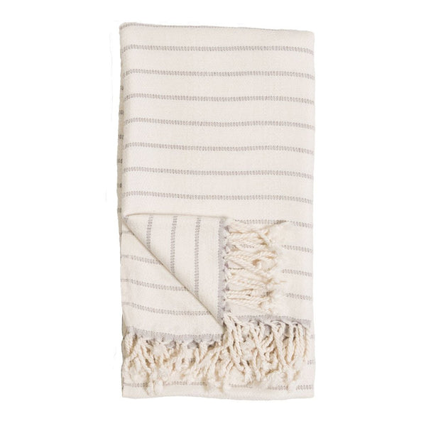 Striped Bamboo Towel